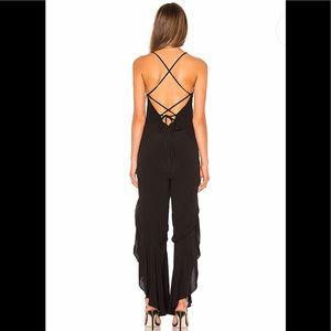 🔥Bardot X Revolve NWT Lindy Jumpsuit in Black